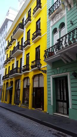 Colorful Buildings , Krystal Z - August 2016