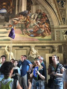 Lots of people from all over the world visit the Vatican , Julia E - August 2016