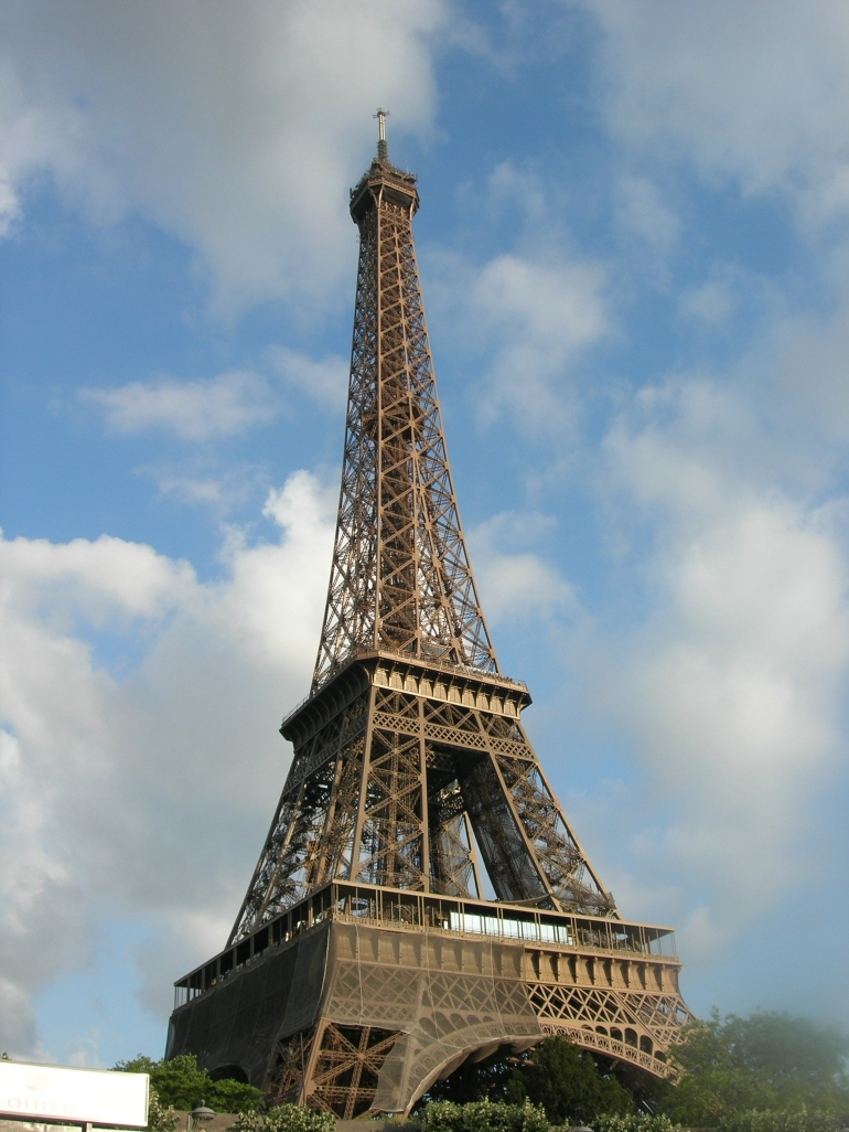 Dinner at the Eiffel - Paris