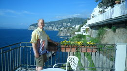 DON ENJOYING THE BEAUTY OF SORRENTO , Eva P - July 2011