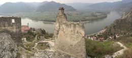 From the ruins of Durnstein Castle , Mark W - April 2014