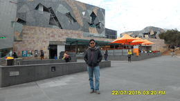 Fed Square is one of the most ambitious architectural design , Devi S - October 2015