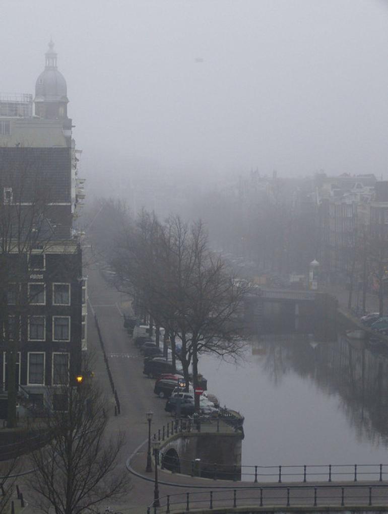 Foggy Kaisersgracht - Amsterdam