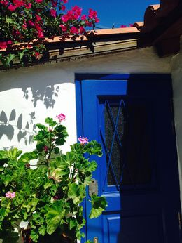 Beautiful village under the Acropolis , trudie g - August 2014