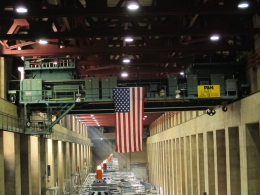 Hoover Dam Turbine Room, Abhishek - December 2010