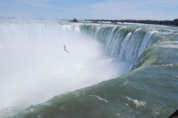Horseshoe Falls, Canadian side of Niagara Falls - November 2011