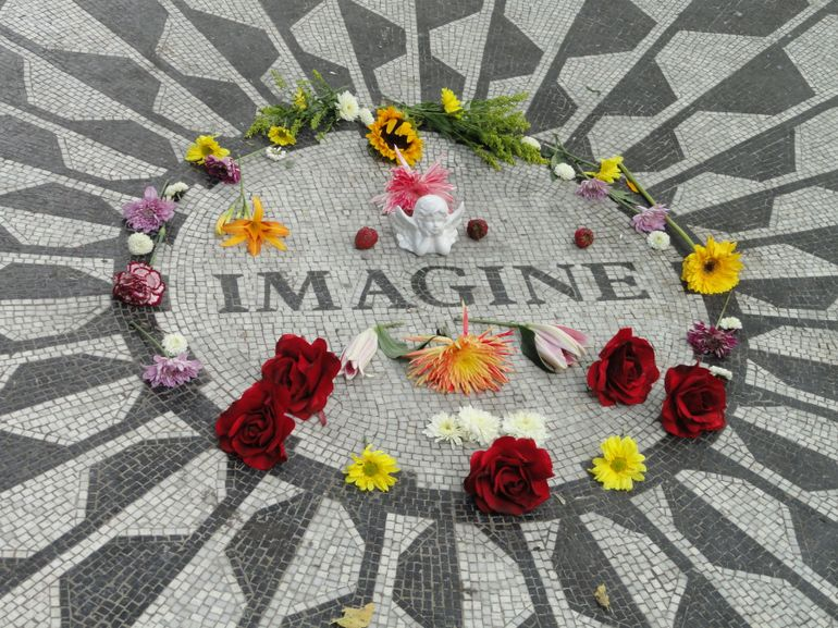 John Lennon Memorial - New York City