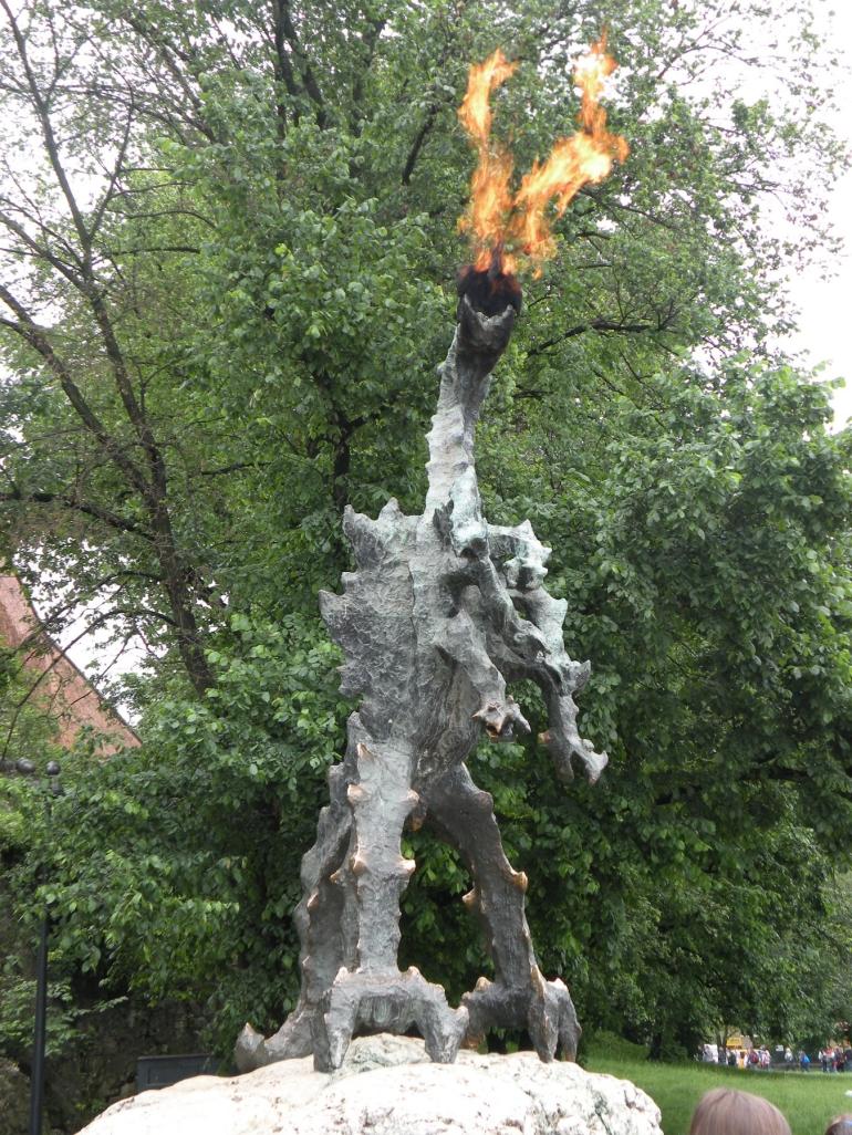Krakow's Dragon. - Krakow