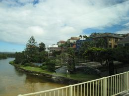 As we were leaving Manly Beach, we passed some beautiful houses along the river - March 2010