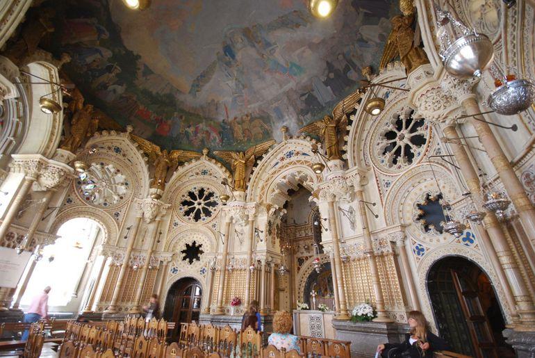 Montserrat's Basilica's Worship Chapel - Barcelona