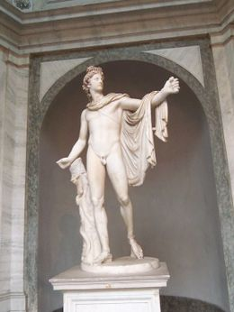 Popes had male statues either castrated or covered their maleness with leaves. - April 2008