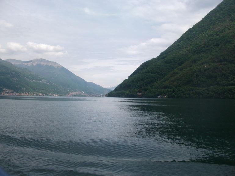 On the boat on Lake Como - Milan