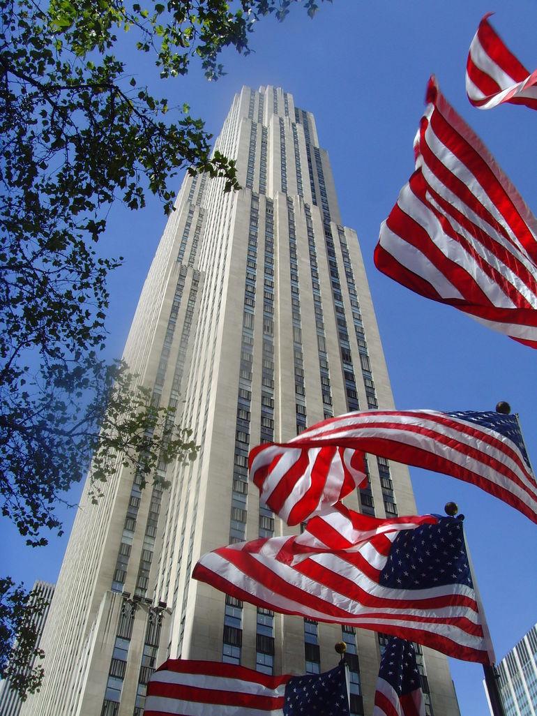 rockfeller building - New York City