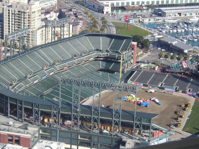 San Francisco Helicopter Tour - AT&T Park - San Francisco