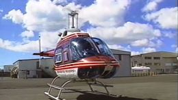 The helicopter you will ride in on the Oahu Helicopter Tour! - July 2011