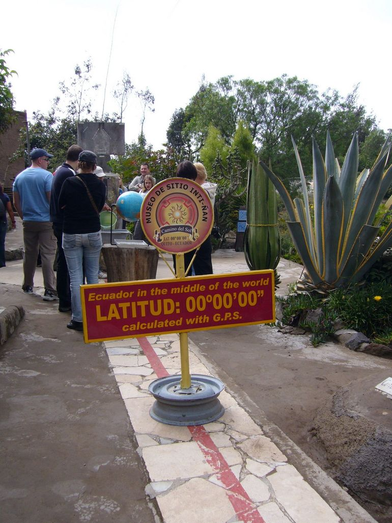 The real Equator - Quito