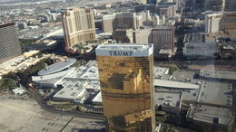 Trump Tower from above on return trip. , Charles M - May 2013