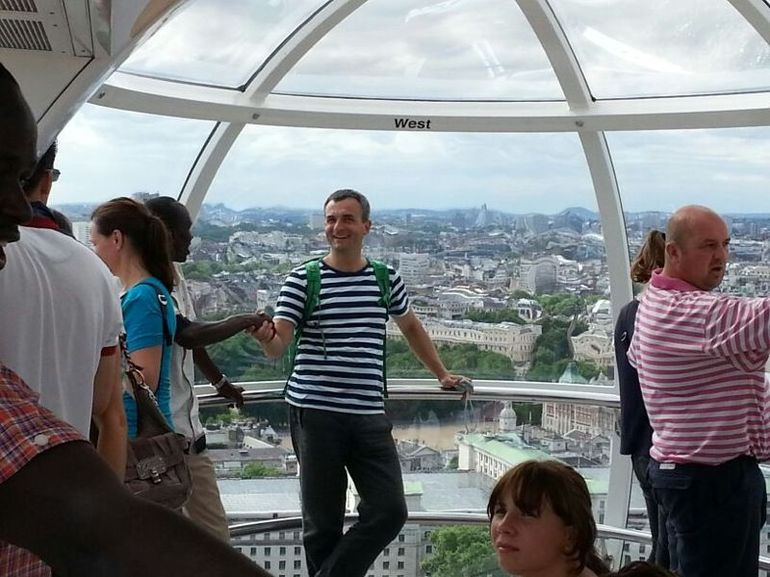 Welcome Kenia in London Eye! - London