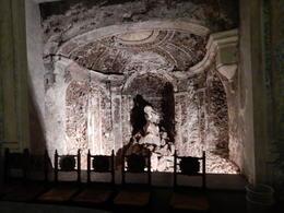 Uncovered in the villa during restoration , judi - November 2016