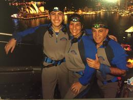 Sydney Harbor Bridge Climb. My husband, son and myself. , Ainayi A - January 2017