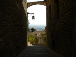 Narrow street Assisi , Mr A M - October 2011