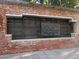 WW2 memorial for Jewish Venetians taken by the Nazis. , Rebecca V - July 2017