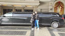 la limousine est venue nous chercher à l'hôtel ! , Marie Susini - January 2014