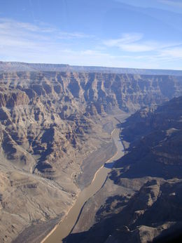Flying over the Grand Canyon, Emily - March 2014