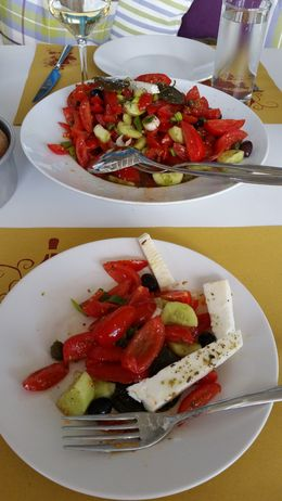 I became a little addicted to greek salad while on vacation here! , Alison N - April 2015