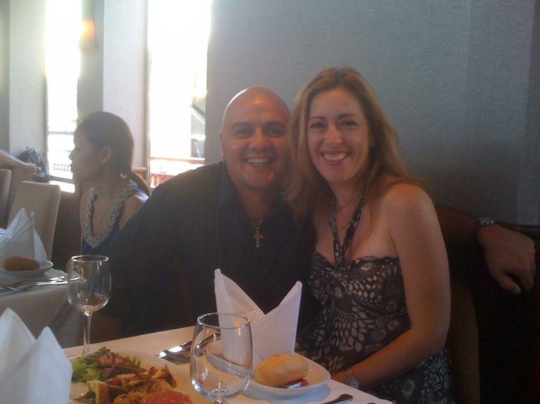 Having our Dinner - Sydney