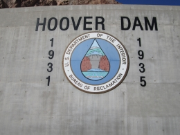 Hoover Dam dates, Abhishek C - December 2010