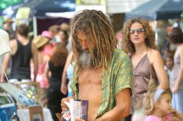 The range of products at Bangalow's Market is incredible. Fruit, vegetables, meat, natural body products, musical instruments, clothing, jewelry... all from local vendors and all things you won't..., ROD C - January 2011