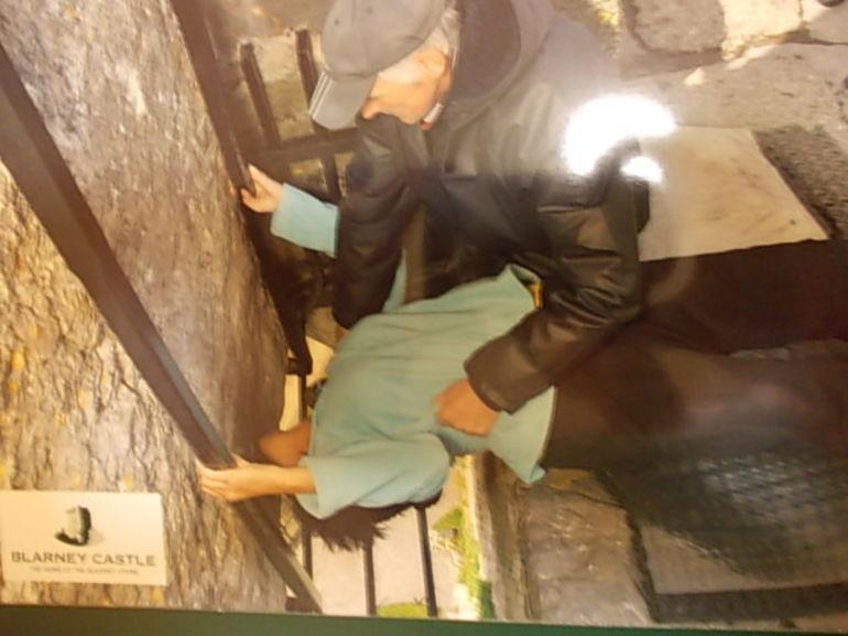 kissing the blarney sone - Dublin