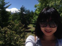 With Lake Ashi and bullet train - May 2014