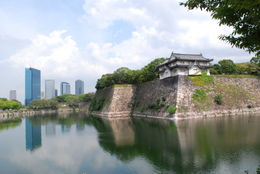 Osaka castle , Larisa M - September 2012