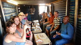 We stopped off in the Village to try out some traditional food and drink! , Lori S - October 2014