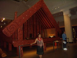 Maori artists met us before there performance , ritageter - January 2016