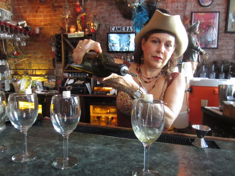 Pouring Absinthe - New Orleans
