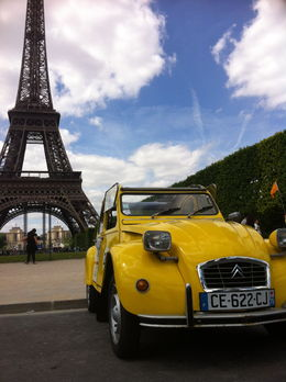 The car with the Eiffel Tower, Ryan & Asha - April 2013
