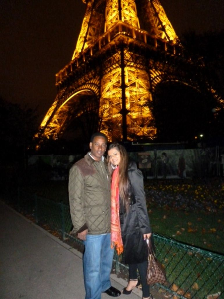 Savita and Rodney in Paris - Paris