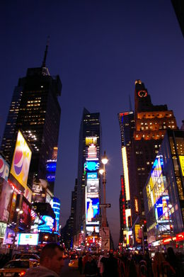 First time my husband had every seen NYC. , Tracib - March 2011
