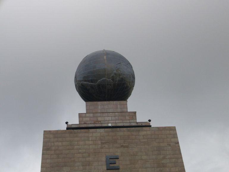 Top of Mitad del Mundo Monument - Quito