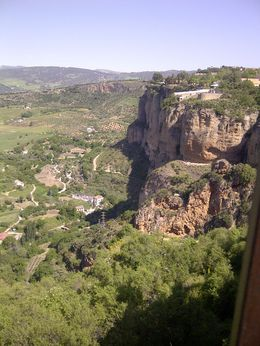 View of the El Tajo Gorge, Ronda , ERK - May 2014