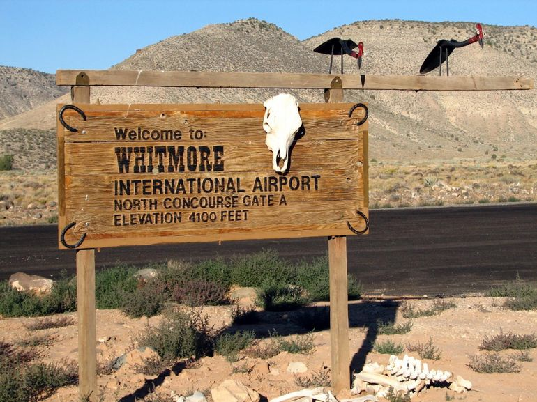 Whitmre 'International' Airport - Las Vegas