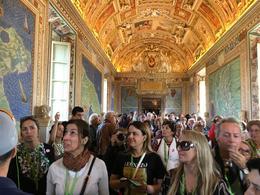 Eu meio abobada com a beleza da sala dos Mapas no Vaticano!!rsrs , Denise Cordeiro - October 2016