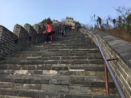 Steep Steps to the top of the Great Wall , dieselrod - April 2017