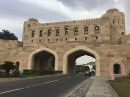 Gate house - old quarter of Muttrah , Elmarie - January 2018