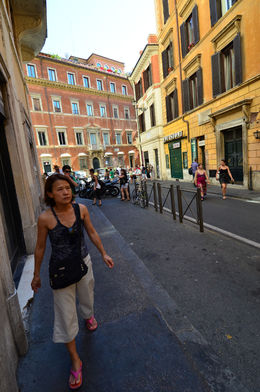 on the way towards the Spanish Steps, Jeff - July 2013
