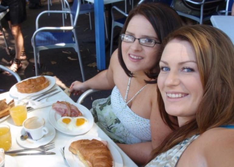 Cafe for breakfast -