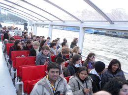 In the boat, Mahesh Mane - April 2010